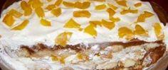 Fantastický krém do dortu, který chutná jako zmrzlina   NejRecept.cz Desserts In A Glass, Vanilla Cake, Nutella, Sweet Recipes, Tiramisu, Mashed Potatoes, Deserts, Food And Drink, Pie