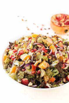 Vegan Christmas salad