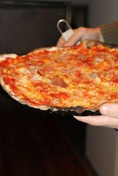 Kokit ja Potit -ruokablogi: Kotipizzaa leivinuunista