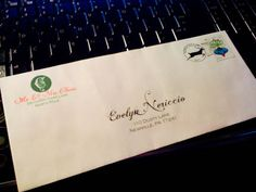 Santa letter to child - free envelope template with 2013 North Pole postmark :-)