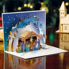 Buy Nativity Pop-up Cards from Museum Selection.