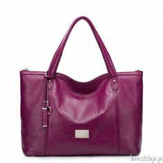 ff334839a shoulder bags: Nucelle Isabella Leather Oversize Shopper Large Hobo Tote Bag  W/shoulder Strap Purple