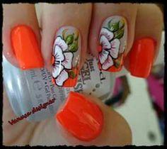 Muy alegre naranjas con un toque primaveral...