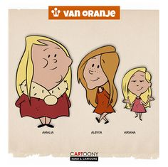Amalia, Alexia, Ariane, pieter Hogenbirk,
