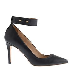 Ankle-cuff pumps. Does this not just scream bad biker chick? In a preppy way, of course.
