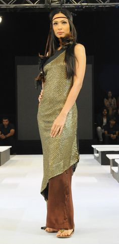 Asmita Marwa gives 2012 makeover to 60's and 70's. It's a spinning carousel of fashion after all.