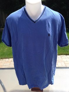Vintage Blue W/ Black Trim Polo Ralph Lauren T-Shirt by MajorDivision on Etsy https://www.etsy.com/listing/237293808/vintage-blue-w-black-trim-polo-ralph