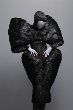 12 Exotic Pieces Of Alexander McQueen's Work, I love the intensity of his pieces