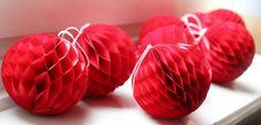 Paperballs Baumschmuck Watermelon, Fruit, Winter, Food, Diy, Weihnachten, Deko, Winter Time, The Fruit
