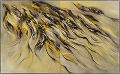 어디에서 어디로 부는가 no.12 oil on canvas 162.1 x 260 2014