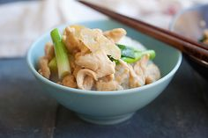 Ginger and Scallion Chicken