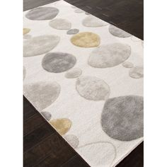 Found it at Wayfair - Blue Ivory & Gray Area Rug