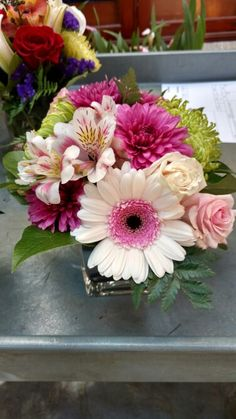 Pretty In Pink Springtime Arrangement Fresh Flowers, Spring Time, Pretty In Pink, Floral Design, Gallery, Plants, Roof Rack, Floral Patterns, Flora