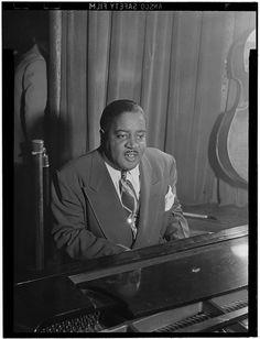 Portrait of Pete Johnson, Café Society (Downtown), New York, June 1946