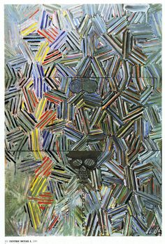 Jasper Johns - Tantric Detail (1980)