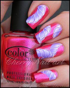 Pretty nails #nailart #pink #nails