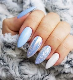 Newest Acrylic Nail Designs Ideas To Try This Year 24 Perfect Nails, Gorgeous Nails, Pretty Nails, Acrylic Nail Designs, Nail Art Designs, Hair And Nails, My Nails, Crome Nails, Nails 2018