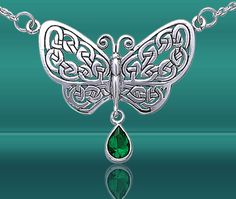 #Celtic #Butterfly #Jewelry! That says Foxy all over it!