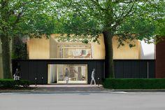 2 logements et 1 commerce - atelierpng architecture - AJAP 2014 - Europe 40 Under 40 2014