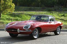 1965 Jaguar E-Type.