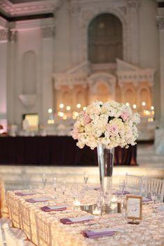 vas-verre-haut-deco-table | Decoration mariage tendance