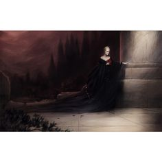 Exquisite Fantasy Art by Mélanie Delon GeekTyrant ❤ liked on Polyvore featuring home, home decor and wall art