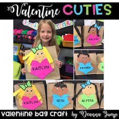 These Valentine's Day bags are an adorable and fun way for students to collect and pass out Valentine's Day cards.  Included in the packet are:*Templates in two different sizes (grocery bag/cereal box size and sandwich bag size)*Editable heart templates so that you can type in your students' names*Editable Parent letters asking them to send in Valentines*Valentine's Day Word Searches (two levels K