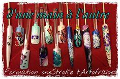 Formation one-stroke niveau II DE tArtofraises One Stroke, Other, Hands