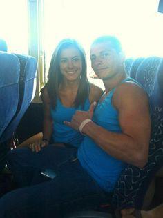 Kacy Catanzaro and Brent Steffensen- the royal couple of American Ninja Warrior :)