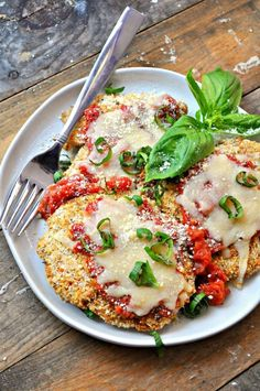 Vegan White Bean Chicken Parmesan Rabbit And Wolves - I Really Loved Chicken Parmesan Crispy On The Outside Super Flavorful And So Cheesy This Vegan White Bean Chicken Parmesan Is Literally Exactly Like It A Perfect Mock Up Of My Old Fav White Bean Recipes, Vegetarian Recipes, Healthy Recipes, Vegan Bean Recipes, Easy Recipes, Vegetarian Chicken, Vegetarian Barbecue, Barbecue Recipes, Vegan Recipes