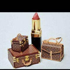 Mini Louis Vuitton luggage