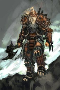 Barbarian Male - Pictures & Characters Art - Diablo III