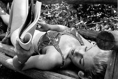 Marilyn sensual.