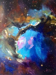 The Universe by Marcela Rogel de Pepper | Flootie.com