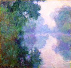 Monet - Morning on the Siene
