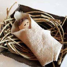 Baby Jesus in the Manger - Sunday School Bible Craft
