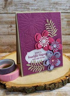 Stampin' Up! Botanical Builder, bloom, Super Stamp Girl