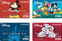 Disney Debit - Discover all of the perks for card members that will help you save on all things Disney, including Disney Parks and Disney Store discounts! Disney Rewards Card, Discount Disney Gift Cards, Disney Cards, Disney Visa, Disney Disney, Chase Bank Card, Printable Play Money, Debit Card Design, Crafts