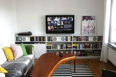 10 Ideas to Steal from Parne's Entertainment Center | Apartment Therapy