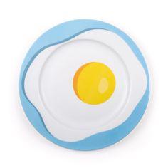 Porcelain Plate <br> Egg