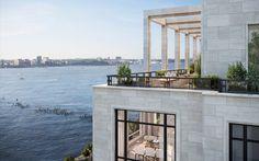 Waterfront Tribeca Condos in Manhattan | 70 Vestry - Views