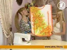074 - Ольга Никишичева. Платье на лето из 3 прямоугольников - YouTube