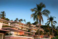 Hotel Las Brisas, Acapulco, Guerrero, México. En la Escénica de Acapulco.