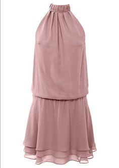 Feminines Kleid in ansprechender Lagenoptik   Gr.38