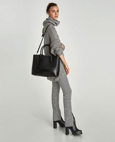 Office-Friendly Bags That Are Big Enough to Hold Your Laptop Work Purse, Briefcase Women, Laptop Tote, Zara New, Zara Bags, Cool Style, My Style, Work Attire, Work Outfits