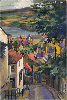 David Carr's Robin Hood's Bay. Such a  fascinating little fishing village.