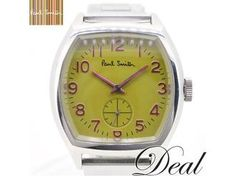 Paul Smith - Yellow Face Watch with Purple Hands & Numerals