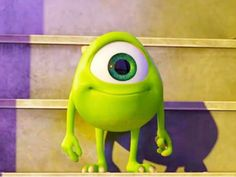 See more 'Kid Mike Wazowski' images on Know Your Meme! Cute Wallpaper Backgrounds, Disney Wallpaper, Cute Wallpapers, Cute Disney, Disney Art, Disney Pixar, Carl Y Ellie, Mike Wazowski, Mini Canvas Art