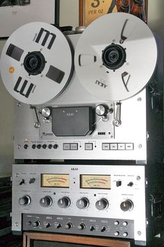 Reel to Reel Tape Recorder Manufacturers - Akai - Museum of Magnetic Sound Recording Best Hifi Speakers, Vinyl Record Collection, Stereo Amplifier, Tape Recorder, Phonograph, Record Player, Audio Equipment, Audiophile, Turntable