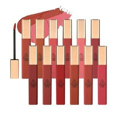 3ce Stylenanda, Olive Young, Stock Icon, Korean Makeup, Lip Tint, Iron Oxide, Lips, Clouds, Beauty Products
